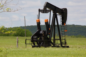 Oil and Gas lease pumpjack